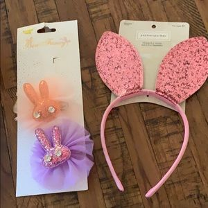 New Girls bunny accessories